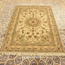 Clearance Yilong 4and039x6and039 Classic Handmade Wool Rug Handcraft Woolen Carpets 2105