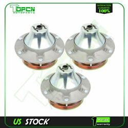 3 Spindle Pulley Assy For John Deere 757 737 F687 Zero-turn Mower 54 60 Deck