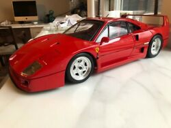 Ferrari F40 1/8 Scale Model From Pocher Of Italy Professionally Built