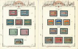 Europa Stamp Collection On 12 White Ace Pages, 1969-1971, Jfz