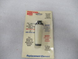 E74 Racor 025-rac-01 And 02 Inline Fuel Filter S2502-01 Oem New Factory Boat Parts