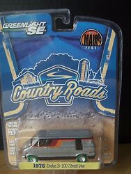 Greenlight Dodge Street Van 1 Of 48 Raw Super Chase Green Machine 1/64 Diecast