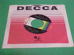 BILLY PARKER 45 RPM ONLY A WOMAN LIKE YOU ROOM FULL OF FOOLS DECCA