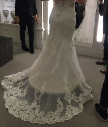 Gorgeous Never Worn Wedding Dress With Matching Cathedral Veil From Kleinfeld