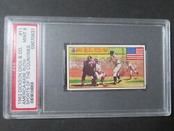 1962 Dickson Orde And Co 11 Babe Ruth Vintage Tobacco Like Card Psa Mint 9