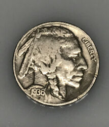 1936 Indian - Buffalo Nickels Uncirculated Fast Priority Insured Shipping
