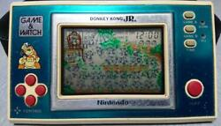 Nintendo Game Watch Donkey Kong Jr. Authentic Rare Maker Condition / Acceptable