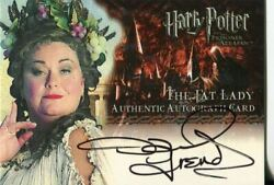 Harry Potter Prisoner Of Azkaban Up. Autograph Dawn French As The Fat Lady