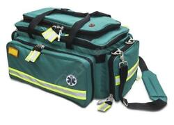 Advanced Life Support Emergency Bag - Green - Padded Handles - Washable