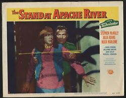 The Stand At Apache River 11x14 Lobby Card Stephen Mcnally Forrest Lewis G