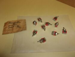 C And K Mini Toggle Switch , 7101r , Lot Of 10 , New