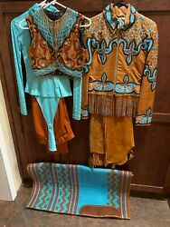 Rust Size Xs Adult Or Youth Xl Show Outfit With Chaps