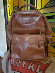 RAWLINGS GENUINE Leather COMPUTER BUISNESS SCHOOL ACCESSORY Backpack $62.90