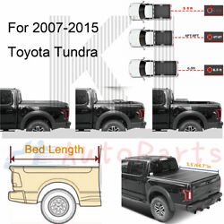 For 2007-2021 Toyota Tundra Tonneau Cover 5.5and039/66.7 Hard Tri-fold Truck Bed