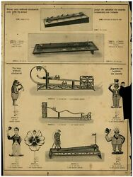 1930 Paper Ad Toys Charlie Chaplin Tin Toy Wind Up Mechanical Golf Steam Engine