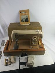 Vintage Brother Flairmatic Sewing Machine Complete Tested With Accessories...