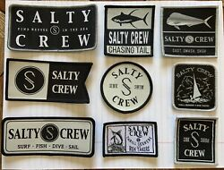 salty crew patches $10.00