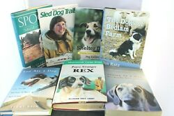 7 Dog Story Books Shelter Dogs, Rex, Spook, Dogs Of Bedlam Farm, Sled Dog Trails