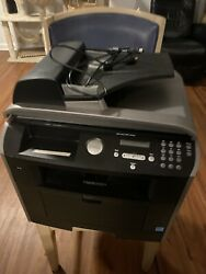 Dell Laser Mfp 1815dn All In One Black Printer Tested Works Clean