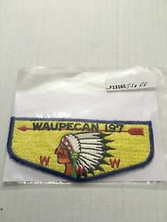 Waupecan Lodge 197 S-1 First Flap F13165