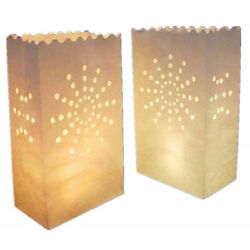 Hollow Candle Paper Bag Lantern Wedding Engagement Anniversary Night Party W