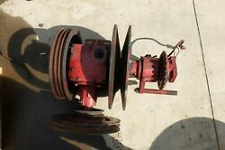 Case International Harvester 1680 Combine Feeder House Drive Gear Box And Pullies
