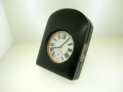 Rare Oversized Swiss Made Pocket/coach Watch 66 Mm - Nice Condition - Best Offer
