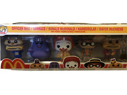 Funko Pop Mcdonalds 5 Pack Ad Icons Golden Arches Exclusive - In Hand