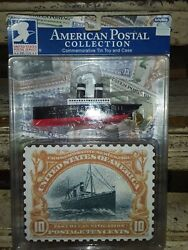 Schylling St Paul Ocean Liner Us Postal Collection Tin Toy And Case New Unopened