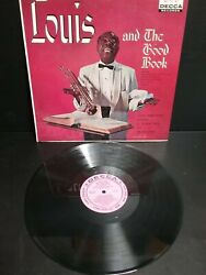 Louis Armstrong LOUIS AND THE GOOD BOOK Vinyl LP PINK LABEL Sample Copy $29.00