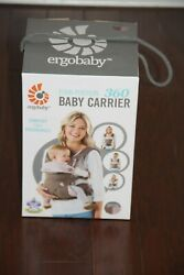 Ergo Baby Four Position 360 Carrier Taupe And Lilac 4 Positions Ergobaby