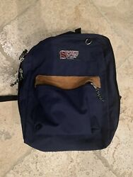 Sports Plus Blue And Trendy Olympia backpack Jansport Look Alike Great Conditi $8.00