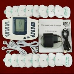 Muscle Relax Stimulator Massager Electrical Tens Acupuncture Therapy Machine Us