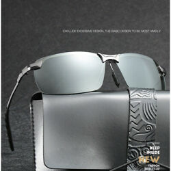 Mens Polarized Sunglasses Driving Aviator Outdoor Sports Cycling Eyewear Glasses $15.49