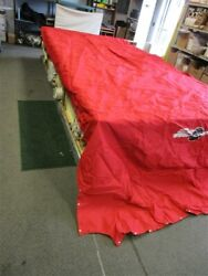 Suntracker Party Deck 21 I/o 2005-2006 Red Cover 30855-02 Single Console Boat