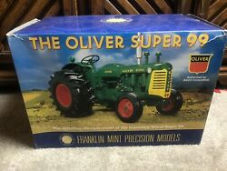 The Franklin Mint Scale 112 The Oliver Super 99 Tractor In Box With Documents