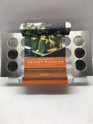 Jalapeño Pepper Roaster Stainless Steel Williams Sonoma Bbq Grill Accessory