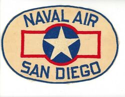 Ww2 Wwii Us Naval Air San Diego June 1943 - August 43 Aircraft Logo Only 1 I See