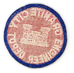 Ww2 Wwii Us Army Granite City Engineer Depot Patch Ssi Seen 2