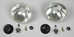 Headlight Conversion Service For Willys Jeep Cj-2a Us-modelle On Eu-standard