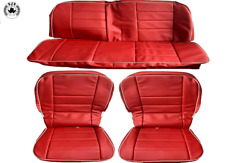 Seat Covers Universal Tür-seitenverkleidung For Vw Beetle 1200 1960-1966, Red