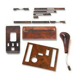 Complete Holzpaket Right Hand Drive -angebot For Mercedes-benz R107 1986- '89