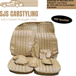 Seat Covers For Mercedes W123 T Model Estate 1/2 Series Dattel 250 240 230 Etc