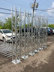 Andnbsptrade Show Displays Aluminum Trusses Twelve Inch Four Cord Used For Showsandnbsp