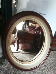 Early Civil War Victorian Deep Oval Walnut Mirror Picture Frame