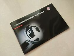 New Vauxhall Service History Book Genuine Covers All Models Astra Corsa Insignia