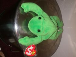 Beanie Babies Legs The Frog Rare Mint Condition 1993