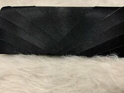 Womens Black Clutch Purses Evening Bag Handbags with strap $30.00