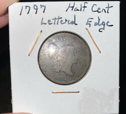 1797 Half Cent - Possibly Lettered Edge
