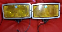 Front Fog Lights Hella 290 With Double Bulbsparables Lamps And Glass Perfect